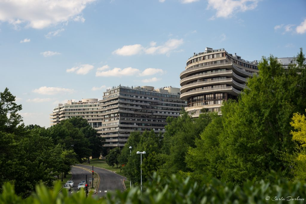 Views from the Kennedy Center rooftop center - Watergate Complex - Photographer Carla Durham - 50 Cities and counting