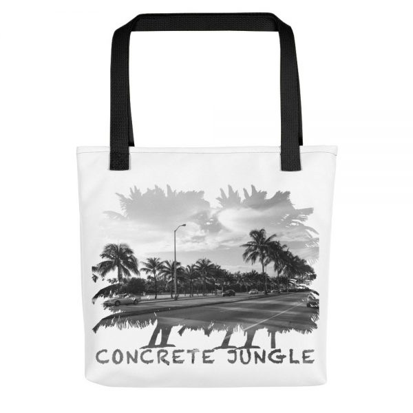 Concrete Jungle - Miami Beach, Florida - Carla Durham, travel photographer - Carla in the City - Carla Durham - white tote bag